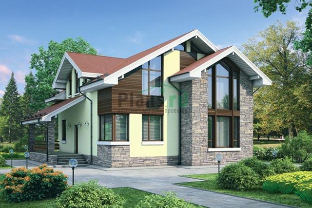 Фото домов из камня по проектам